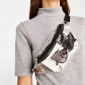 Handbags - Clear Acrylic Fanny Pack/Belt Bag